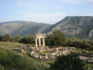 Etbd-2004 Sanctuary-Of-Athena-At-Delphi